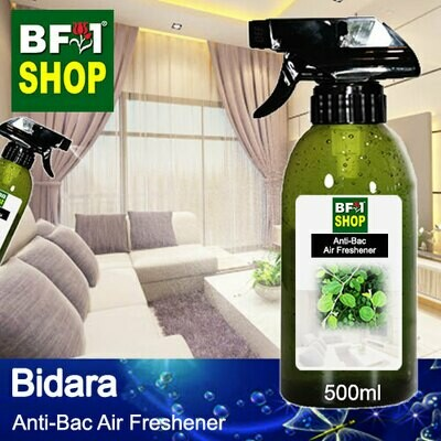 Anti-Bac Air Freshener - 75% Alcohol with Bidara - 500ml