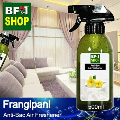Anti-Bac Air Freshener - 75% Alcohol with Frangipani - 500ml
