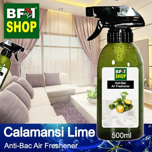 Anti-Bac Air Freshener - 75% Alcohol with lime - Calamansi Lime - 500ml