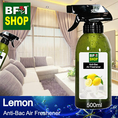 Anti-Bac Air Freshener - 75% Alcohol with Lemon - 500ml