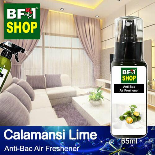 Anti-Bac Air Freshener - 75% Alcohol with lime - Calamansi Lime - 65ml