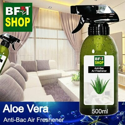 Anti-Bac Air Freshener - 75% Alcohol with Aloe Vera - 500ml