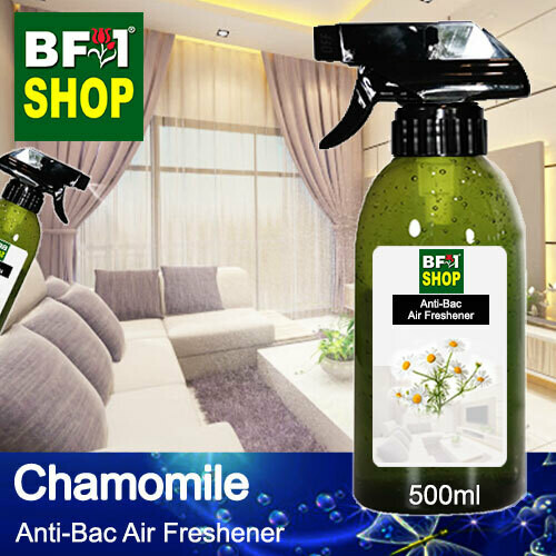 Anti-Bac Air Freshener - 75% Alcohol with Chamomile - 500ml