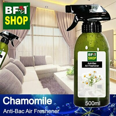 Anti-Bac Air Freshener - 75% Alcohol with Chamomile - 500ml