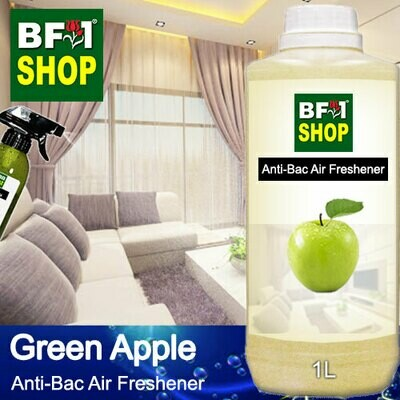 Anti-Bac Air Freshener - 75% Alcohol with Apple - Green Apple - 1L