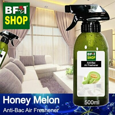 Anti-Bac Air Freshener - 75% Alcohol with Honey Melon - 500ml