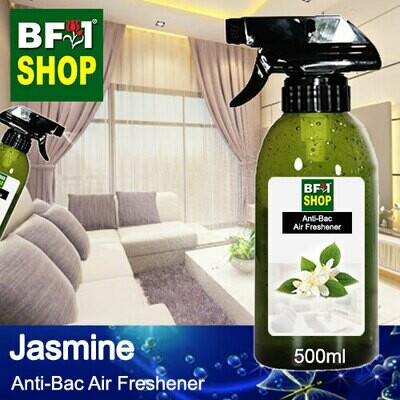 Anti-Bac Air Freshener - 75% Alcohol with Jasmine - 500ml