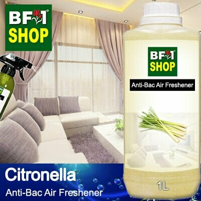 Anti-Bac Air Freshener - 75% Alcohol with Citronella - 1L