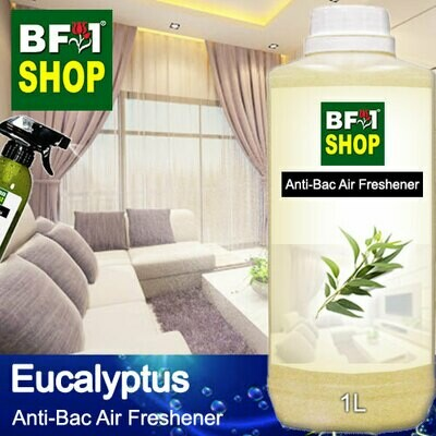 Anti-Bac Air Freshener - 75% Alcohol with Eucalyptus - 1L