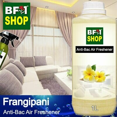 Anti-Bac Air Freshener - 75% Alcohol with Frangipani - 1L