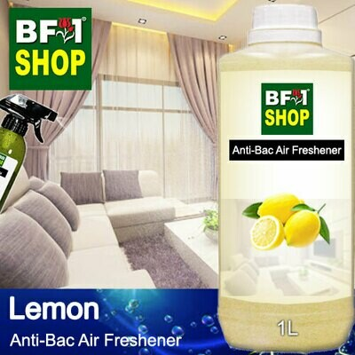Anti-Bac Air Freshener - 75% Alcohol with Lemon - 1L