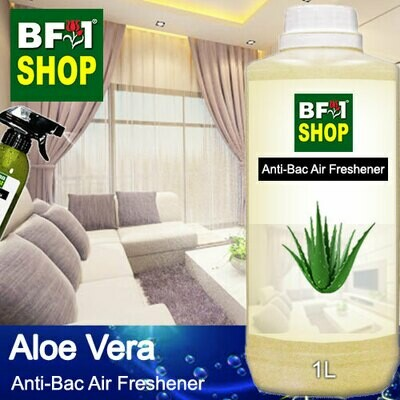 Anti-Bac Air Freshener - 75% Alcohol with Aloe Vera - 1L
