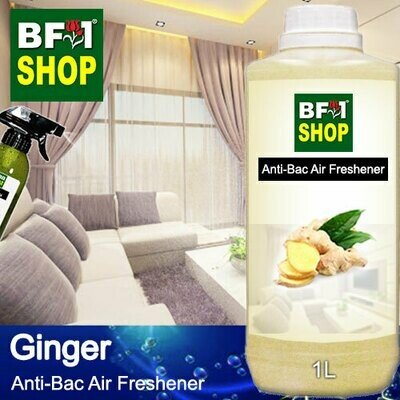Anti-Bac Air Freshener - 75% Alcohol with Ginger - 1L