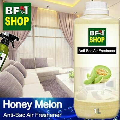 Anti-Bac Air Freshener - 75% Alcohol with Honey Melon - 1L
