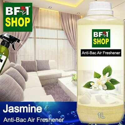 Anti-Bac Air Freshener - 75% Alcohol with Jasmine - 1L