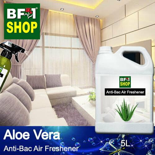 Anti-Bac Air Freshener - 75% Alcohol with Aloe Vera - 5L
