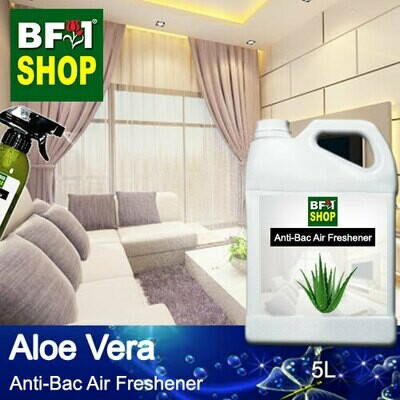 Anti-Bac Air Freshener - 75% Alcohol with Aloe Vera - 5L