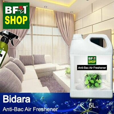 Anti-Bac Air Freshener - 75% Alcohol with Bidara - 5L