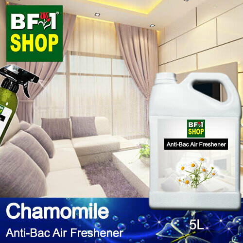 Anti-Bac Air Freshener - 75% Alcohol with Chamomile - 5L