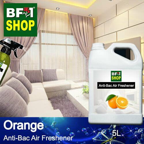 Anti-Bac Air Freshener - 75% Alcohol with Orange - 5L