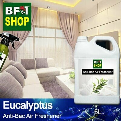 Anti-Bac Air Freshener - 75% Alcohol with Eucalyptus - 5L