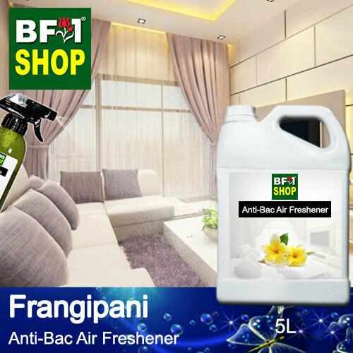 Anti-Bac Air Freshener - 75% Alcohol with Frangipani - 5L