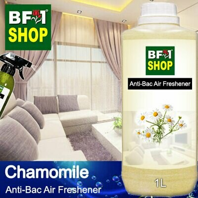 Anti-Bac Air Freshener - 75% Alcohol with Chamomile - 1L