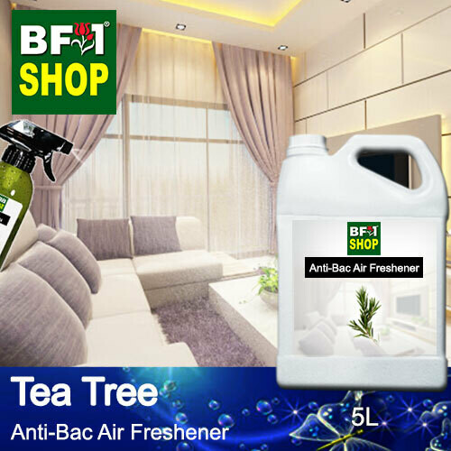Anti-Bac Air Freshener - 75% Alcohol with Tea Tree - 5L