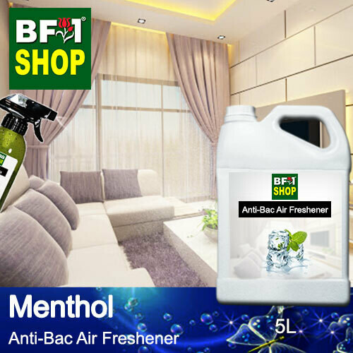 Anti-Bac Air Freshener - 75% Alcohol with Menthol - 5L