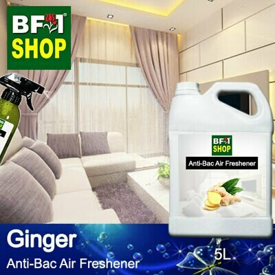 Anti-Bac Air Freshener - 75% Alcohol with Ginger - 5L