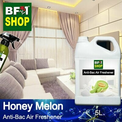 Anti-Bac Air Freshener - 75% Alcohol with Honey Melon - 5L