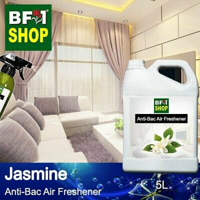 Anti-Bac Air Freshener - 75% Alcohol with Jasmine - 5L