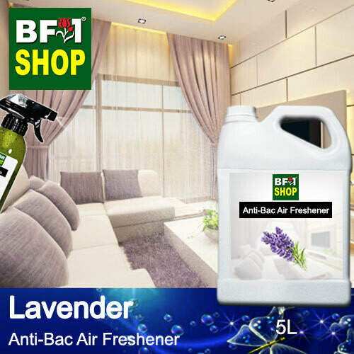 Anti-Bac Air Freshener - 75% Alcohol with Lavender - 5L