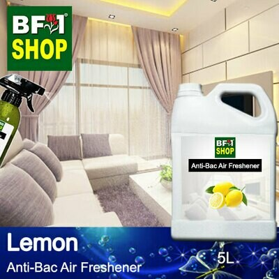 Anti-Bac Air Freshener - 75% Alcohol with Lemon - 5L