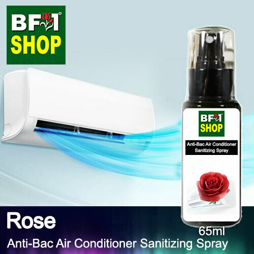 Anti-Bac Air Conditioner Sanitizing Spray (ABACS) - Rose - 65ml