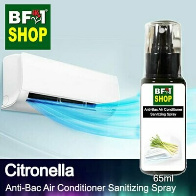 Anti-Bac Air Conditioner Sanitizing Spray (ABACS) - Citronella - 65ml