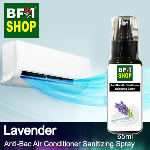 Anti-Bac Air Conditioner Sanitizing Spray (ABACS) - Lavender - 65ml
