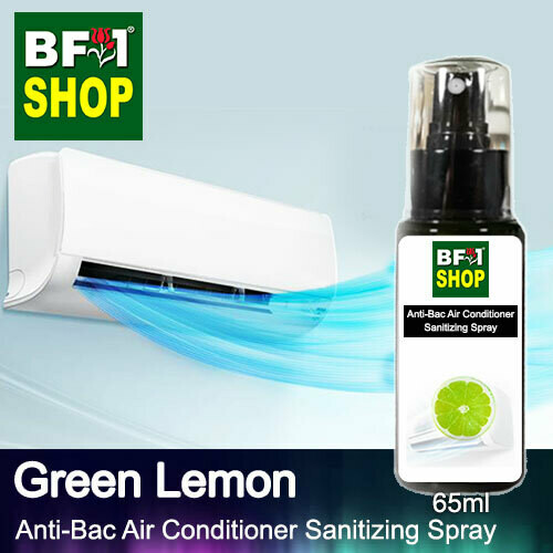 Anti-Bac Air Conditioner Sanitizing Spray (ABACS) - Lemon - Green Lemon - 65ml