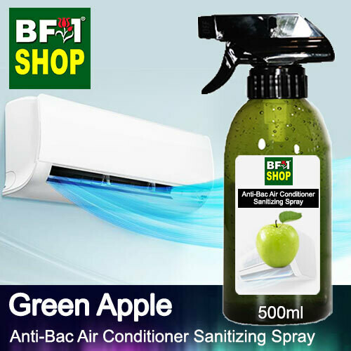 Anti-Bac Air Conditioner Sanitizing Spray (ABACS) - Apple - Green Apple - 500ml