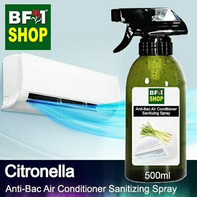 Anti-Bac Air Conditioner Sanitizing Spray (ABACS) - Citronella - 500ml
