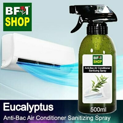 Anti-Bac Air Conditioner Sanitizing Spray (ABACS) - Eucalyptus - 500ml