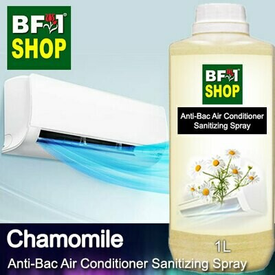 Anti-Bac Air Conditioner Sanitizing Spray (ABACS) - Chamomile - 1L