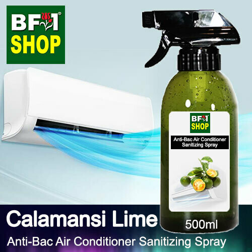 Anti-Bac Air Conditioner Sanitizing Spray (ABACS) - lime - Calamansi Lime - 500ml