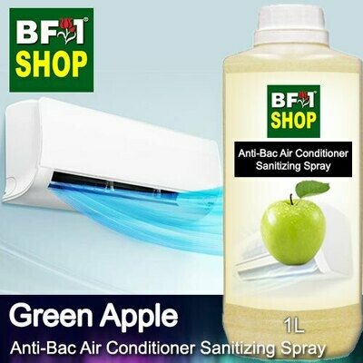 Anti-Bac Air Conditioner Sanitizing Spray (ABACS) - Apple - Green Apple - 1L