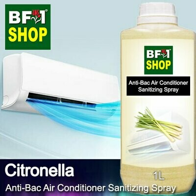 Anti-Bac Air Conditioner Sanitizing Spray (ABACS) - Citronella - 1L