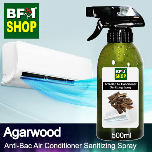 Anti-Bac Air Conditioner Sanitizing Spray (ABACS) - Agarwood - 500ml