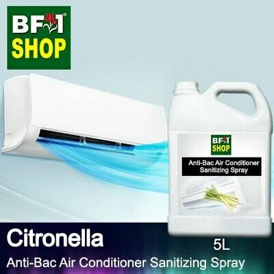 Anti-Bac Air Conditioner Sanitizing Spray (ABACS) - Citronella - 5L