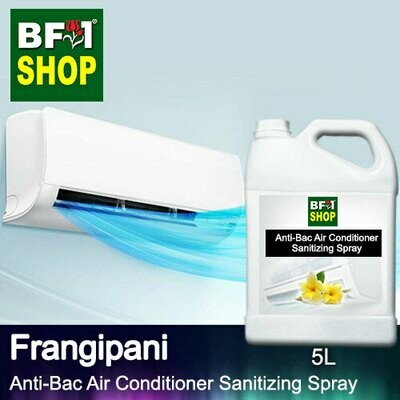 Anti-Bac Air Conditioner Sanitizing Spray (ABACS) - Frangipani - 5L