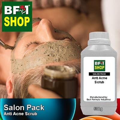 Salon Pack - Anti Acne Scrub - 500g