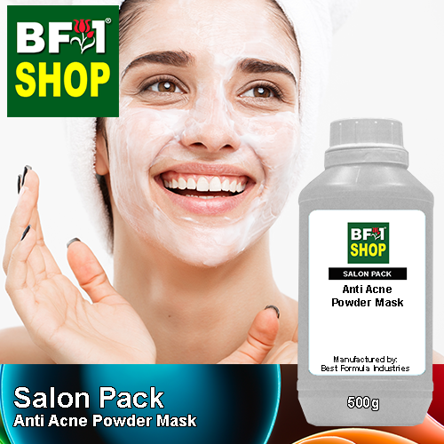 Salon Pack - Anti Acne Powder Mask - 500g